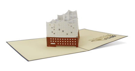 Popup-Karte Elbphilharmonie