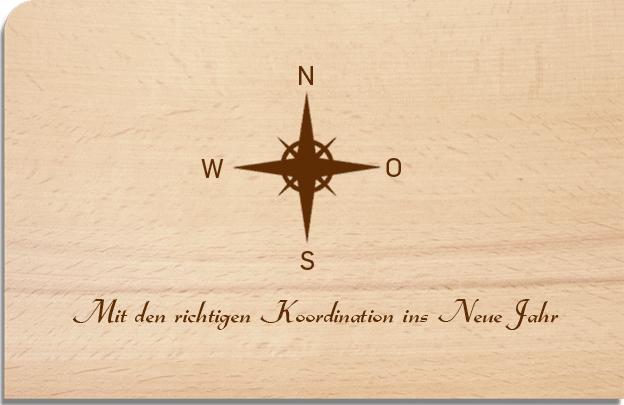 Holz-Postkarten